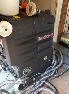 industry standard upholstery cleaning machine