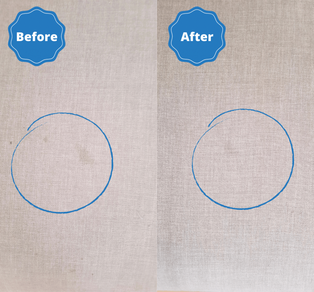 tough stains removed by house proud finish